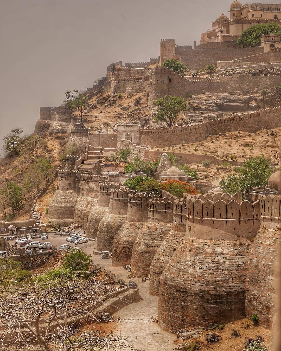 राणा कुम्भा का इतिहास, कुंभलगढ़ किला